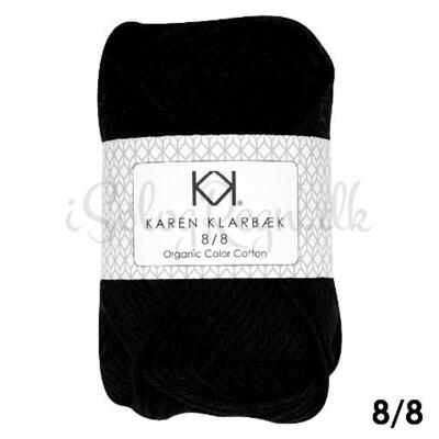 KK 8/8 Organic Color Cotton Black