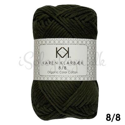 KK 8/8 Organic Color Cotton Dark Kombu Green
