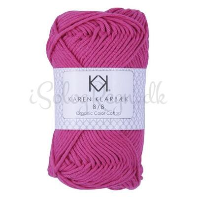 KK 8/8 Organic Color Cotton Hot Pink